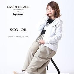 Ayumi.× LIVERTINE AGEコラボ