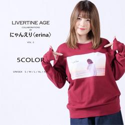 にゃんえり〈erina〉× LIVERTINE AGEコラボ