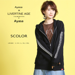 Ayasa× LIVERTINE AGEコラボ